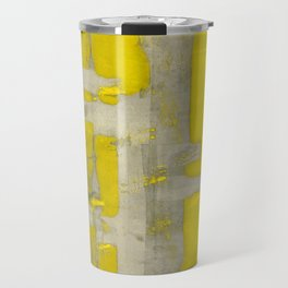 Stasis Gray & Gold 4 Travel Mug