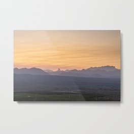 Superstition Sunrise Metal Print