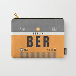 Luggage Tag A - BER Berlin Germany Carry-All Pouch