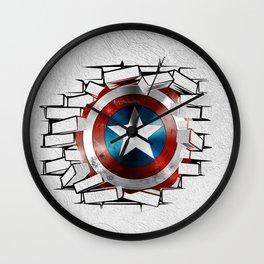 Break Captain! Wall Clock