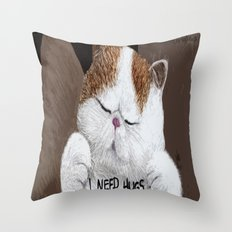 Hugs! Throw Pillow