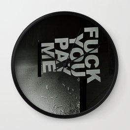 FYPM Wall Clock