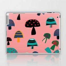 Cute Mushroom Pink Laptop & iPad Skin