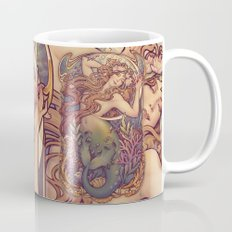 Andersen Little Mermaid Nouveau Mug
