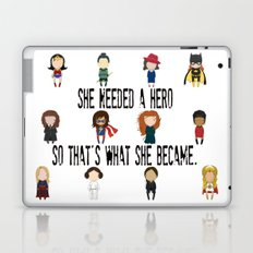 So That's What She Became Laptop & iPad Skin