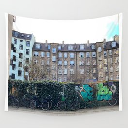 Homes, Vesterbro, Copenhagen Wall Tapestry