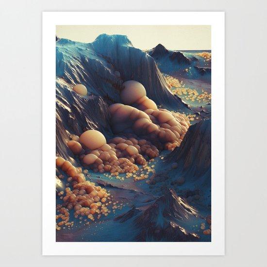 MILK.ORANG7 (everyday 05.17.16) Art Print