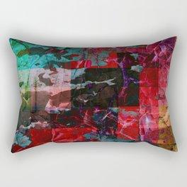 Vivid Prism Rectangular Pillow