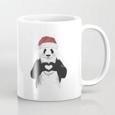 Santa panda Mug