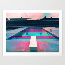 Dive v1.0 Art Print