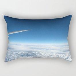 Paint me Blue Rectangular Pillow