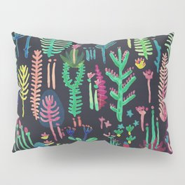 color forest in the dark Pillow Sham