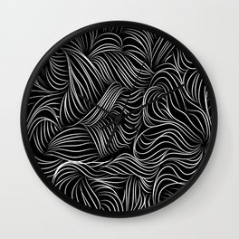 Lines view Wall Clock