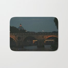 Bridges of Rome in the Evening Bath Mat