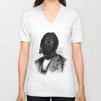 bdsm V-neck T-shirts featuring BDSM XI by DIVIDUS