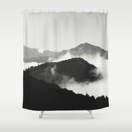 m i s t Shower Curtain