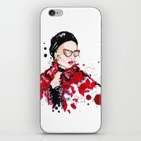 vogue iPhone & iPod Skins featuring VOGUE by CARLOS CASANOVA