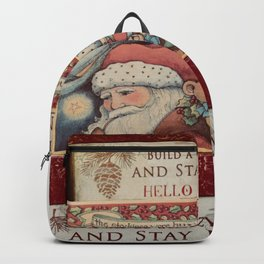 Christmas design with gift boxes Backpack