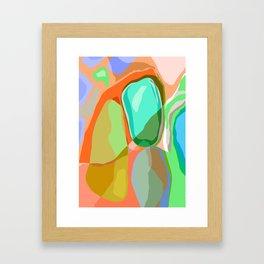 orgánica Framed Art Print