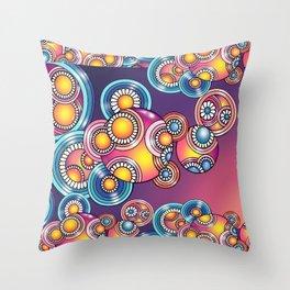 Swirley Do... Throw Pillow