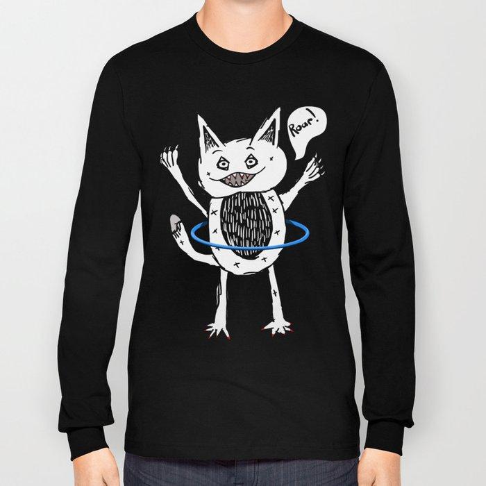 Monster Hula Hoop Long Sleeve T-shirt