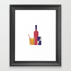Vodka Red Bull Framed Art Print