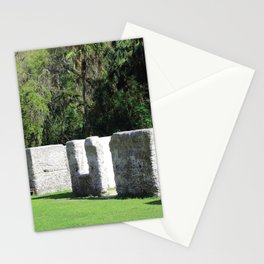 Kingsley Plantation Slave Cabins Stationery Cards