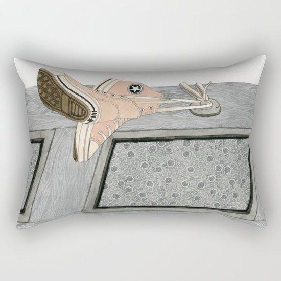 Pink Chucks Rectangular Pillow