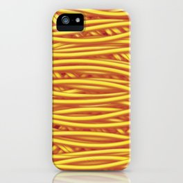 Just Spaghetti iPhone Case