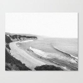 Summer Coast Canvas Print