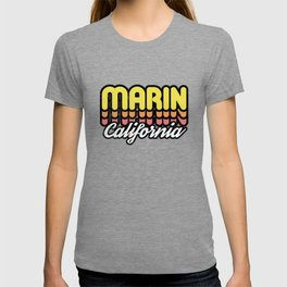 Retro Marin California T-shirt
