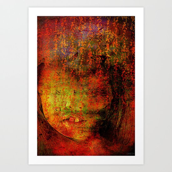 Sorry,  I thought that it was you Art Print