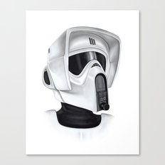 Scout Trooper Canvas Print