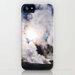 Tatio Geysers in the Atacama Desert, Chile iPhone Case