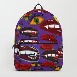 Creepy Girlish Pattern Backpack