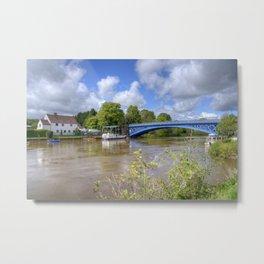 Stourport River Bridge Metal Print