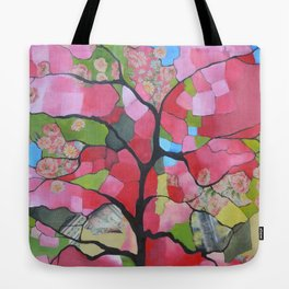 Tree in blossom Tote Bag