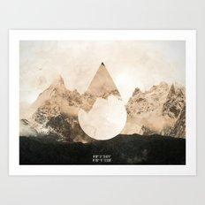 Longitude/Latitude Art Print