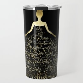 Scarlett's Enchanted Dress. Caraval Travel Mug