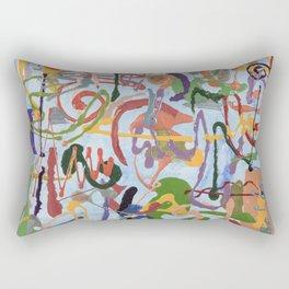Shamanic Painting 03 Rectangular Pillow