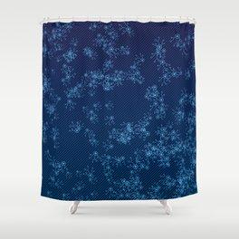 Prime Hack Links - Dark Blue Shower Curtain