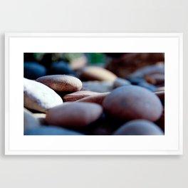 pebbles we carry/2 Framed Art Print