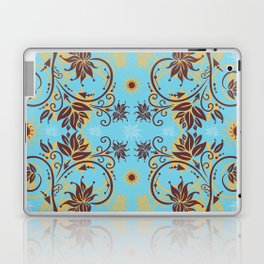 Abstract floral ornament Laptop & iPad Skin