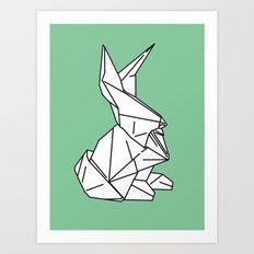 Bunny or 兔子 (Tùzǐ), 2014. Art Print