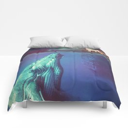 The Whale and the Wolf Comforters
