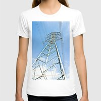 the wire T-shirts featuring High Wire by Kim Ramage
