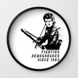 Steve Figthing Wall Clock