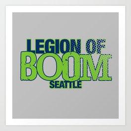 LEGION OF BOOM Art Print