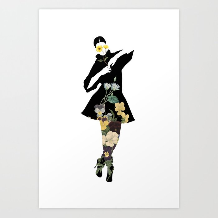 The joy of dressing, Art Prints by dayDREAM - MMS 648 Art Print