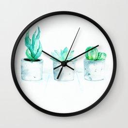 Hipster's dream garden Wall Clock
